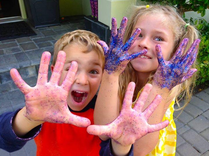 glitter-kids