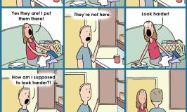 Male Pattern Blindness is a Cartoon!