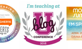 Conferences and Keynotes and Panels, OH MY!