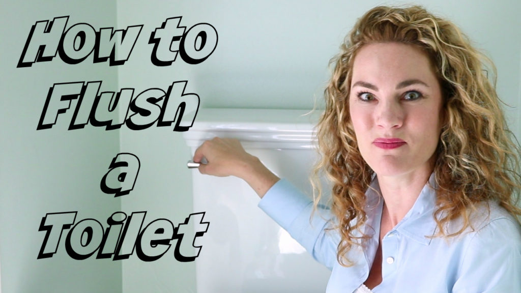 How to Flush a Toilet – Passive Aggressive Tutorials