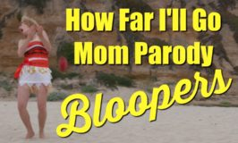 """Moana """"How Far I'll Go"""" Mom Parody BLOOPERS!"""