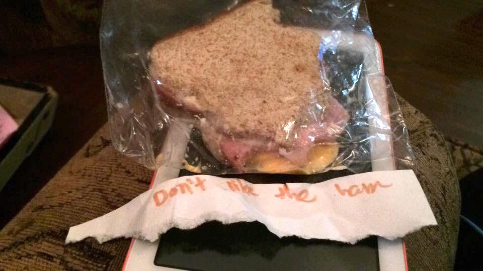 This Kid's Lunch Notes to Her Mom Are Hysterical