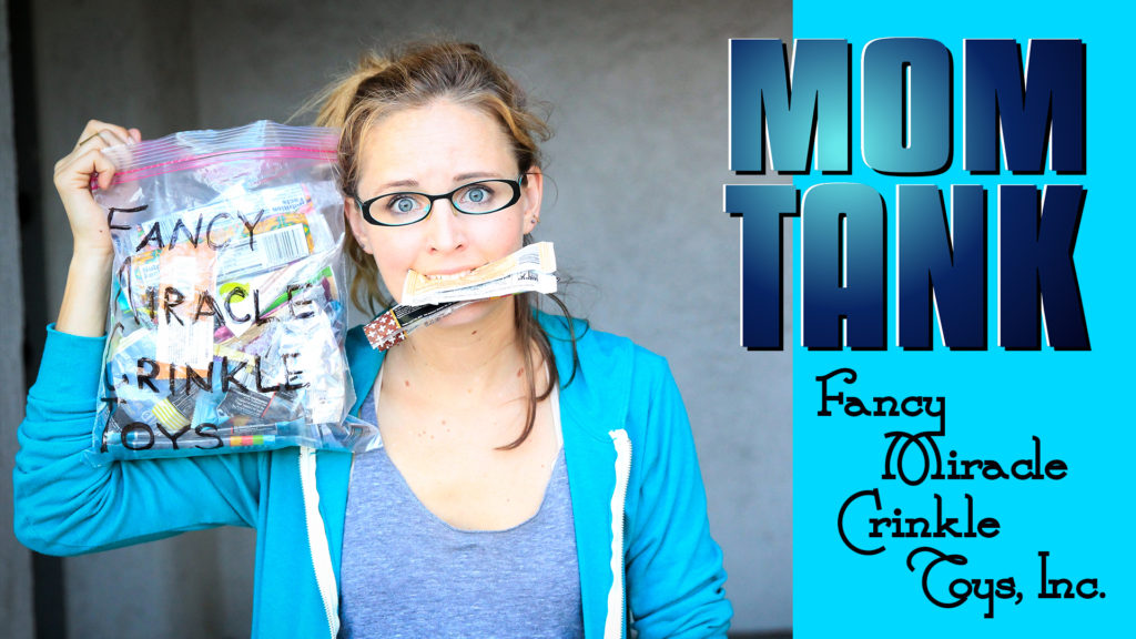 Mom Tank | Shark Tank Parody | Ep. 2 Mom Tank | Fancy Miracle Crinkle Toys