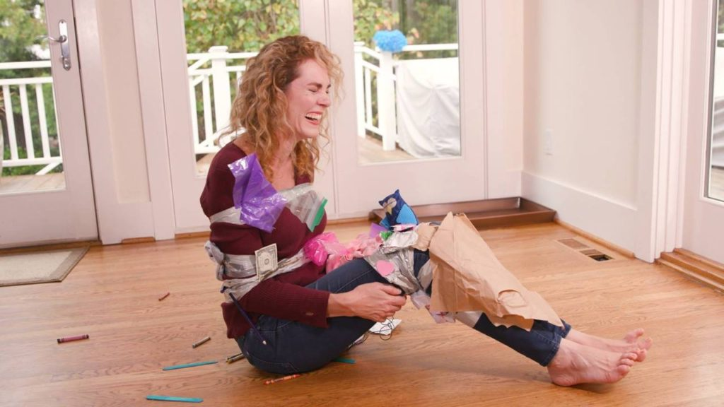 How to Clean the House with Duct Tape BLOOPERS