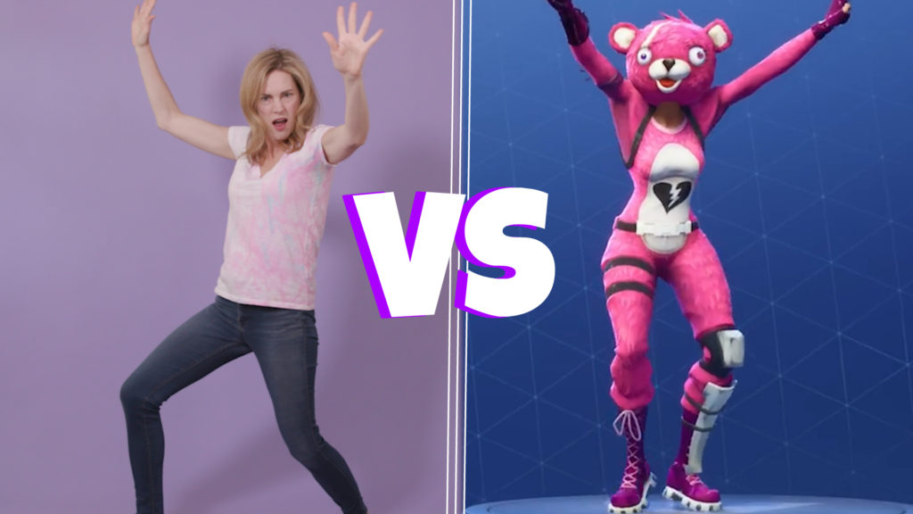 Fortnite Dance Challenge – Mom vs. Kids